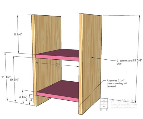 simple wood shelves wood work small bookcase plans