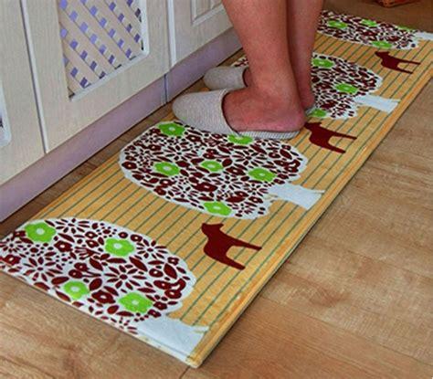 yellow kitchen floor mats yellow striped kitchen decorative mats with animal print 1692