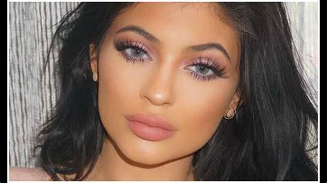 kylie jenner blue eye makeup tutorial youtube