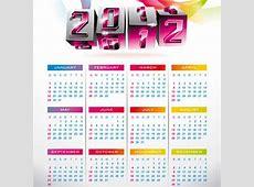 2012 Calendar Design Templates
