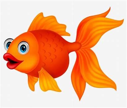 Fish Cartoon Sea Clipart Animals Transparent Pngkit