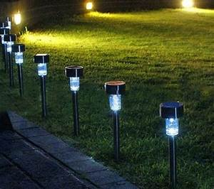 Patio path lights photo pixelmari