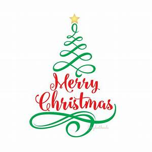 merry christmas vinyl wall decal tree with letters holiday With merry christmas vinyl lettering