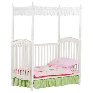 princess crib canopy delta children lil princess canopy crib white