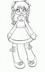 Doll Coloring Rag Creepy Drawing Annabelle Szmaciana Lalka Drawings Draw Clip Tsukiko Moonchild Anime Lines Evil Deviantart Library Kolorowanka Coloringhome sketch template