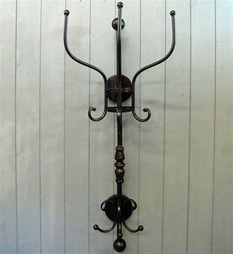 simple wall mount coat rack home designs easy install