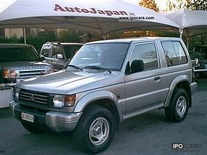 Mitsubishi Pajero 2 5 1996 Technical Specifications