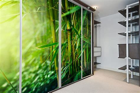 printed glass doors sliding wardrobe direct cyprus