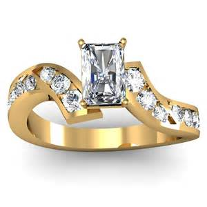 pear shaped wedding sets radiant channel set engagement ring engagement rings review