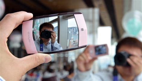 Webcam Mirror by Casio S Kawaii Selfie By Mirror Cam Is Exactly What It
