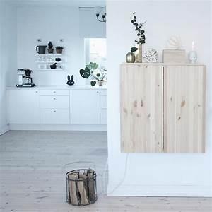 Weiße Regale Ikea : heller holzboden weisse kuechenzeile ikea ivar ~ Articles-book.com Haus und Dekorationen