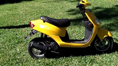 Chinese Gy6 49cc Scooter Review