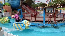Magic Fish Water Ride At PortAventura Park, Salou, Spain ...