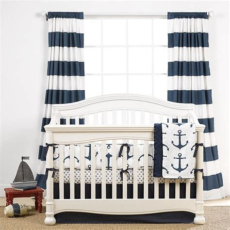 navy and white striped curtains cabana curtains liz