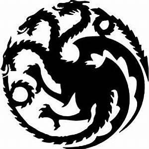 Amazon.com: Game of Thrones House Targaryen Sigil Vinyl ...