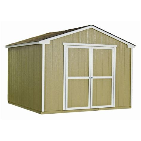handy home products sheds storage princeton 10 ft x 10