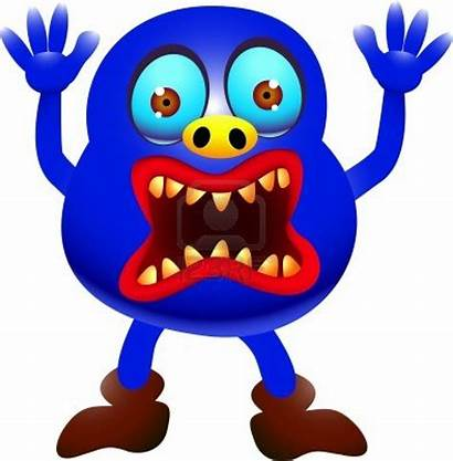 Monster Scary Cartoon Funny Monsters Clipart Cliparts