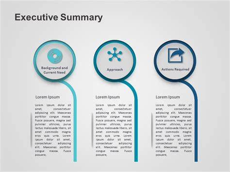 brand summary template executive summary powerpoint template 3 slideuplift