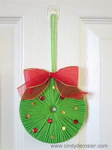 cd wreath family crafts