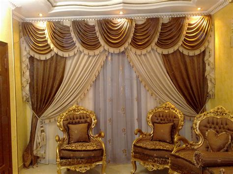 Home Curtain : Luxurious Living Room Curtains