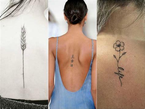 foto de I 20 tatuaggi più femminili e originali per la schiena