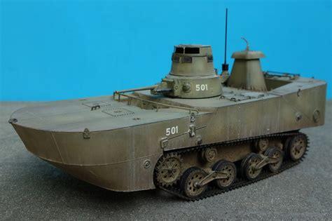 Ijn Type 2 Quot Ka Mi Quot Amphibious Tank W Floating Pontoons