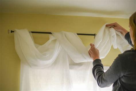 ways  hang scarf valances home decor curtains scarf