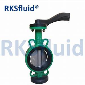Alibaba Express Handle Manual Wafer Center Butterfly Valve