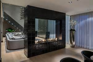 interior your home fireplaces as room dividers 15 sided design ideas