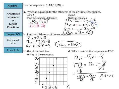 worksheet arithmetic series worksheet grass fedjp