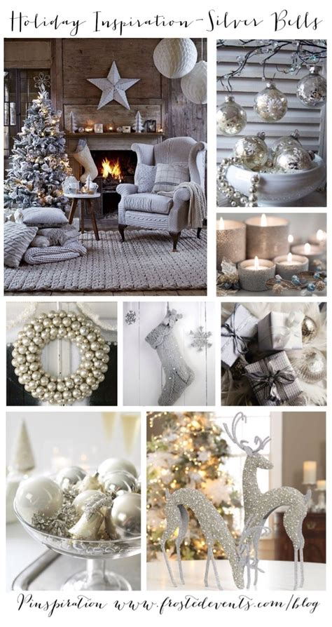 holiday inspiration silver bells christmas ideas
