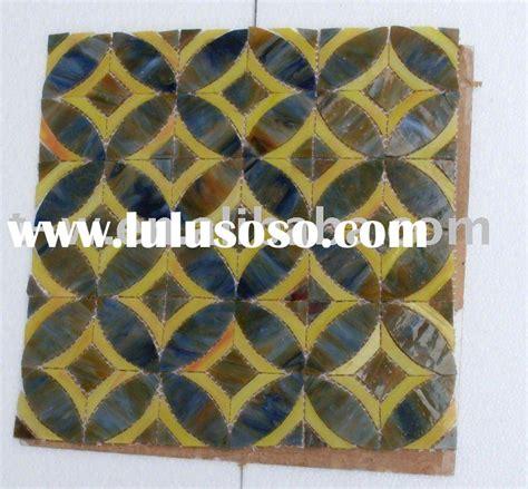 Stained Glass Mosaic Art Pattern