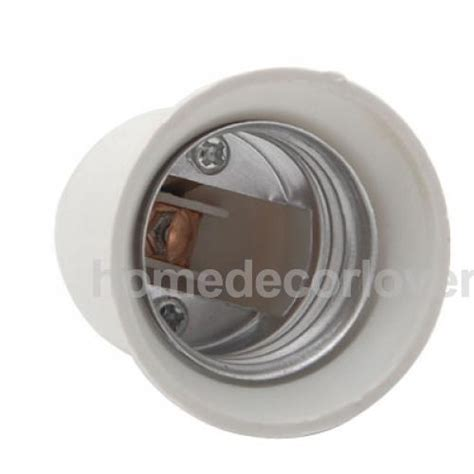 e12 to e27 candelabra ceiling fan light socket holder