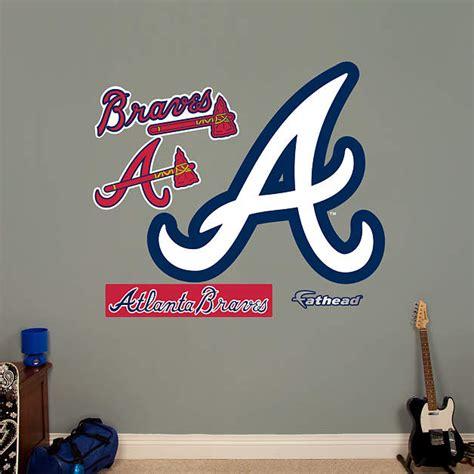 Search for atlanta braves in these categories. Atlanta Braves Alternate Logo Wall Decal   Shop Fathead® for Atlanta Braves Decor