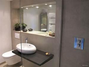 salle de douche contemporaine inside creation douche a l With salle de bain design avec vasque en galet