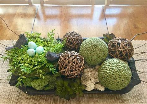 Have you done any fall decorating around your home? Pin by Isabelle Briffa on Tray Decor | Dining room table centerpieces, Dough bowl centerpiece ...