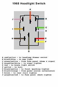 1960 Ford Headlight Switch Wiring Diagram