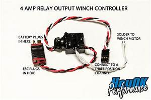 Relay Output Winch Controller