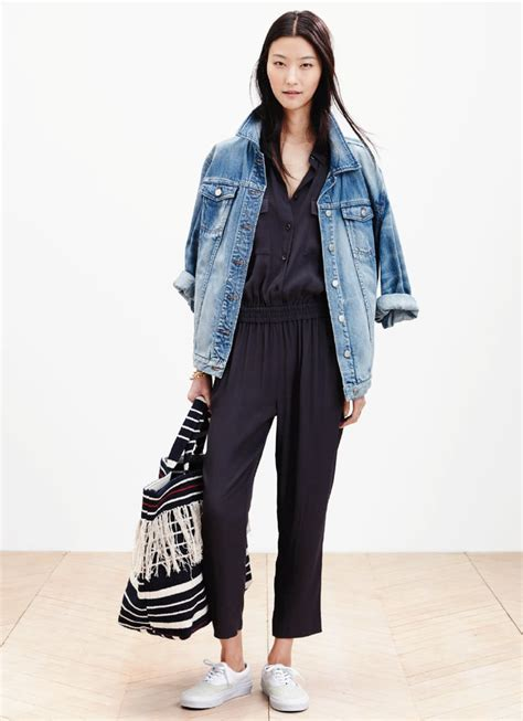 madewell spring  collection lookbook popsugar