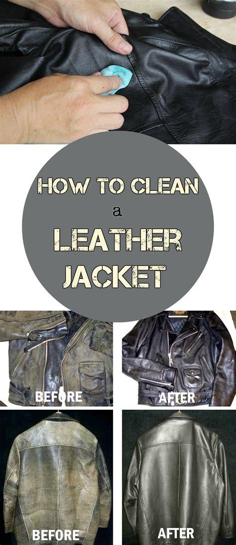 clean  leather jacket getcleaningtipsnet
