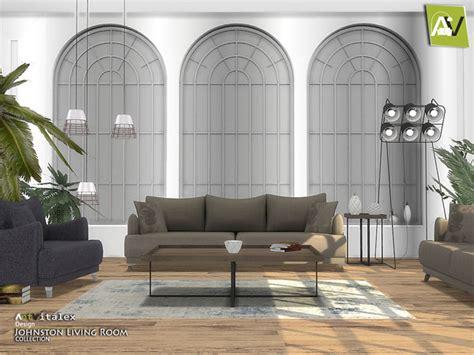 Livingroom Johnston by Johnston Living Room By Artvitalex At Tsr 187 Sims 4 Updates