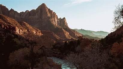 Aerial River Mountains Landscape Nature 4k Background