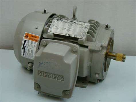 Electric Motor Sales by Siemens 1 Hp 1755 Rpm Electric Motor Sd100 Ebay