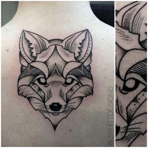 geometric fox tattoo jwhitt designs tattoos tattoo