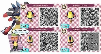 Qr Crossing Animal Code Leaf Lucario Splatoon
