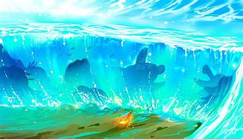 moana ocean background  background check