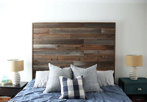 peel and stick wall how to a diy wooden headboard fresh crush
