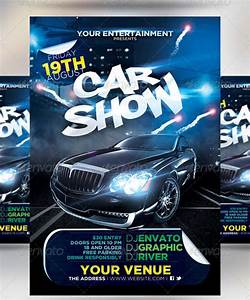 Car Show Flyer Templates - Free Images, PSD Documents