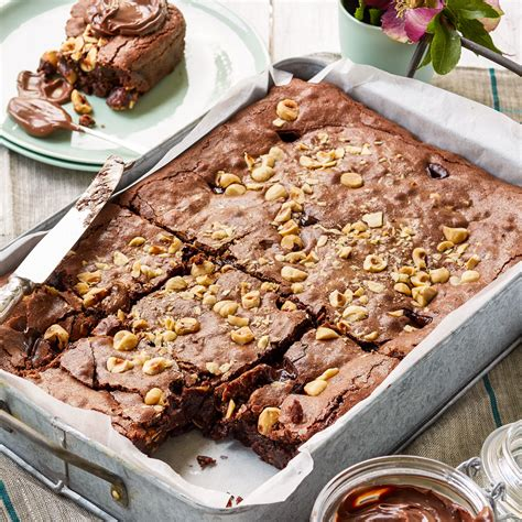better homes and gardens brownies double hazelnut brownie diy gardening craft recipes renovating better homes and gardens