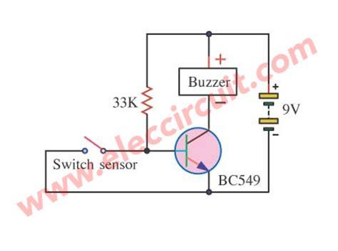 5 burglar alarm circuits electronic projects circuits